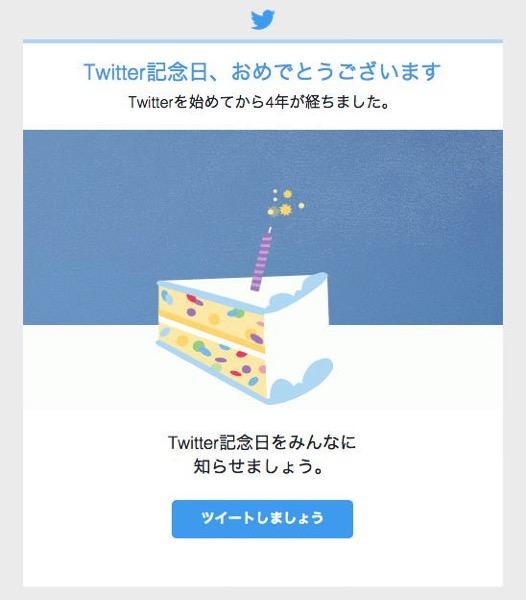 Twitter kinenbi